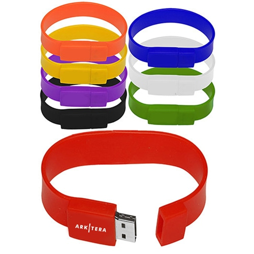 2GB Wristband USB Flash Drive Image 4