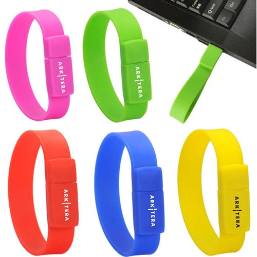 2GB Wristband USB Flash Drive Image 5