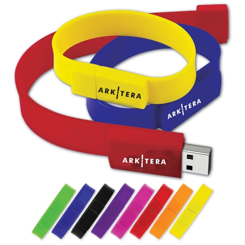 16GB Wristband USB Flash Drive Image 2