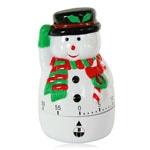 Snowman Christmas Kitchen Timer