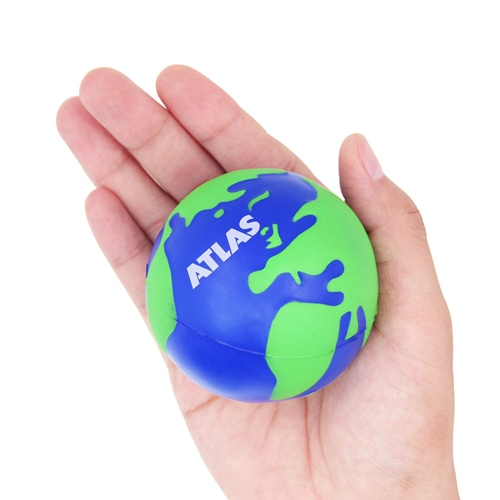Globe Stress Ball Reliever Image 2
