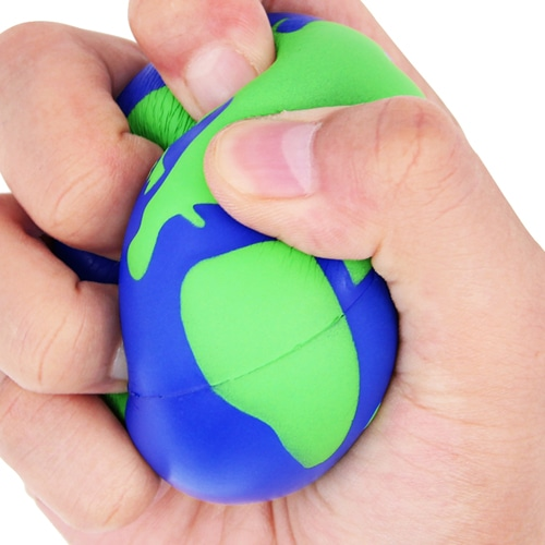 Globe Stress Ball Reliever Image 4