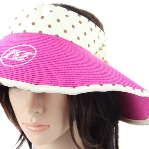 Groovy Straw Visor Hat