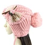 Stylish Pom Pom Knitted Hat