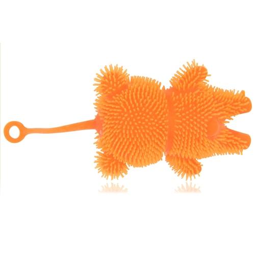 Bear Shaped Yo-Yo Puffer Ball With Light