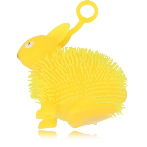 Bunny Shaped Yo-Yo Puffer Ball With Light