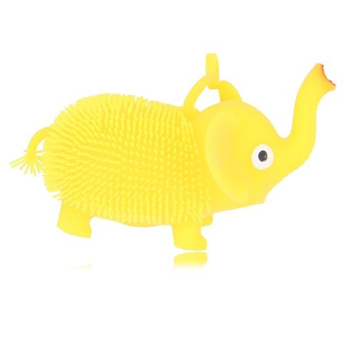 Elephant Shaped Yo-Yo Puffer Ball With Light