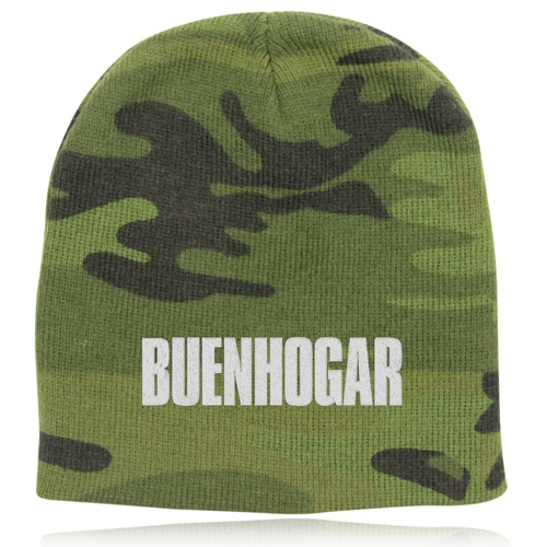 Up Town Camo Beanie Image 1