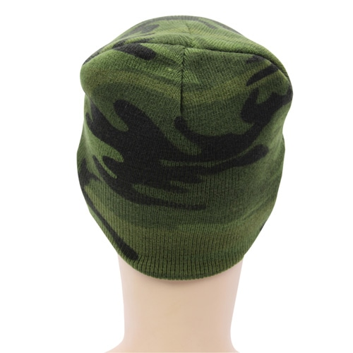 Up Town Camo Beanie Image 5