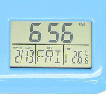 Classy Photo Frame Pen Holder Clock