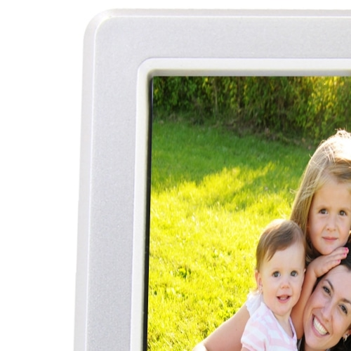Photo Frame Clock With Pen Holder Image 9