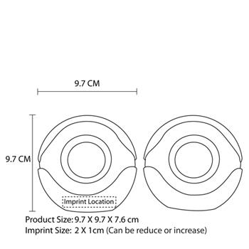 Ticlo Round USB Speakers