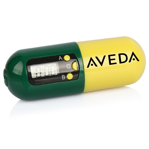 Digital Pill Shape Pill Box