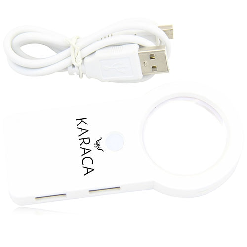 USB Hub Led Illuminated Magnifier Image 9