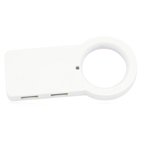 USB Hub Led Illuminated Magnifier