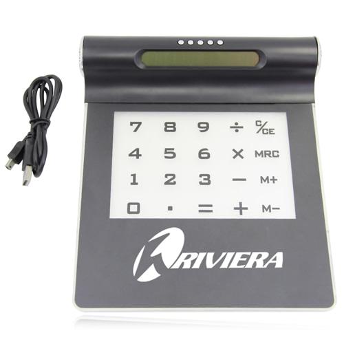 Multifunction USB Hub Mousepad Calculator