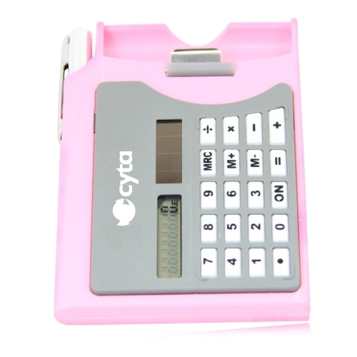 Business Card Case Calculator With Pen