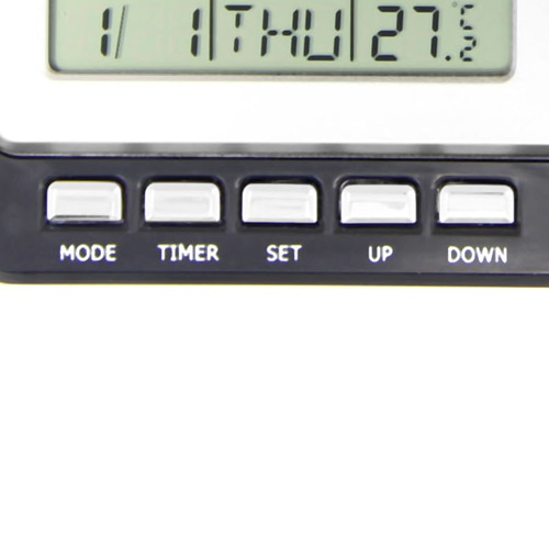 Snazzy Radio Calendar Clock Image 6