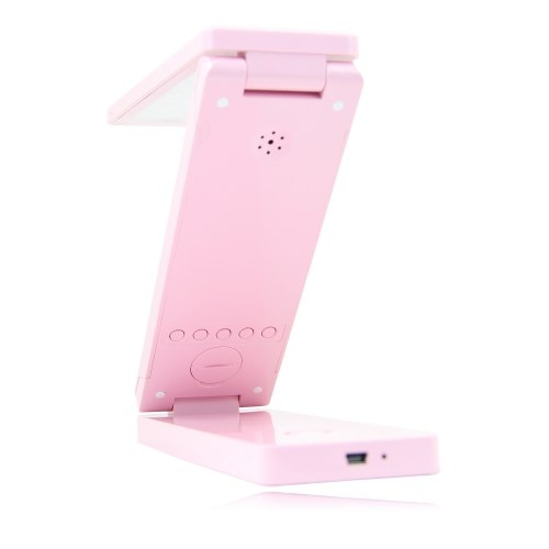 Foldable LED Lamp With Clock Image 10