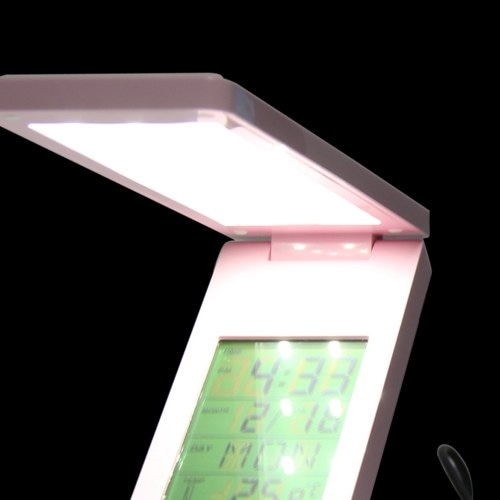 Foldable LED Lamp With Clock Image 5