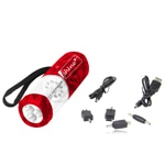 Emergency Hand Crank Flashlight Radio & Phone Charger