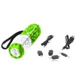 Emergency Hand Crank Flashlight Radio & Phone Charger