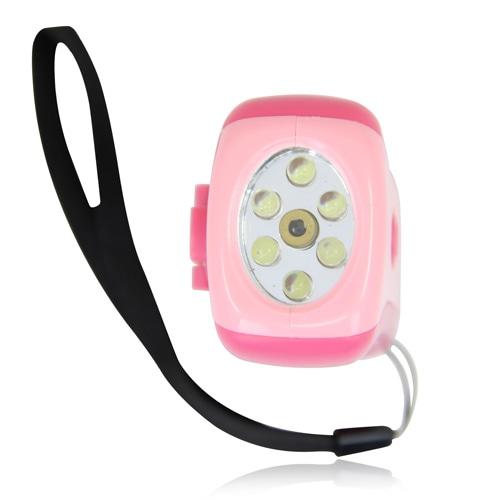Handy Crank Squeeze Flashlight