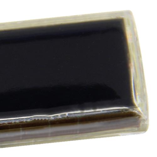 Transparent Flash Solar LCD Keychain