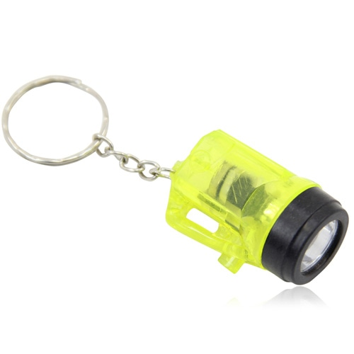 Mini Translucent Led Flashlight Keyring