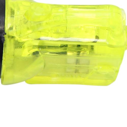Mini Translucent Led Flashlight Keyring