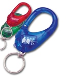 Plastic Carabiner Keychain Led Light