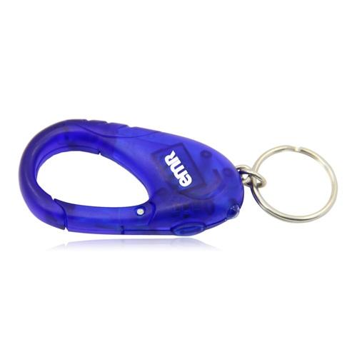 Plastic Carabiner Keychain Led Light