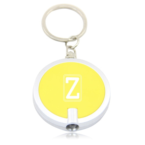 Disc Shaped Led Keychain Image 8