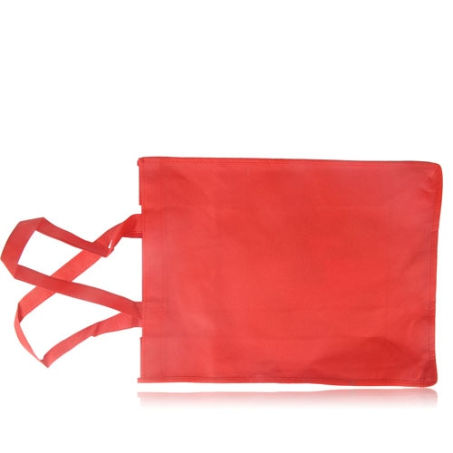Side Paper Pocket Non-Woven Tote Bag Image 11