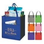 Side Paper Pocket Non-Woven Tote Bag