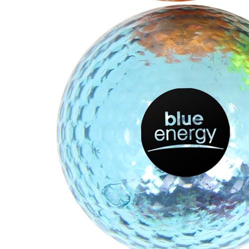 Shiny Metallic Golf Ball