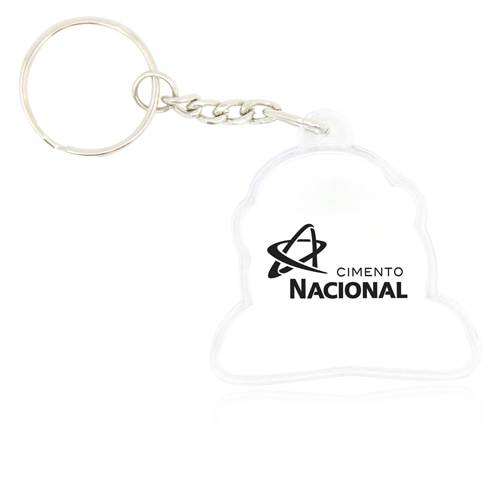 Customize Shaped Acrylic Keychain Image 1