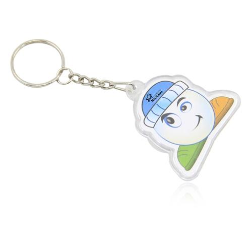 Customize Shaped Acrylic Keychain Image 2