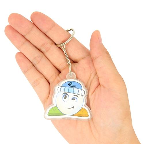 Customize Shaped Acrylic Keychain Image 3