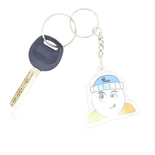 Customize Shaped Acrylic Keychain Image 4