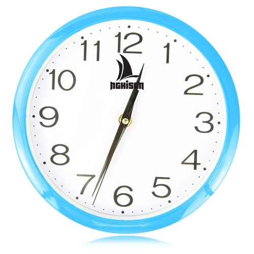 9 Inch Bright Circle Wall Clock