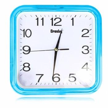 Horloge murale carrée de 12 pouces