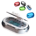 Pebble Shaped Pedometer