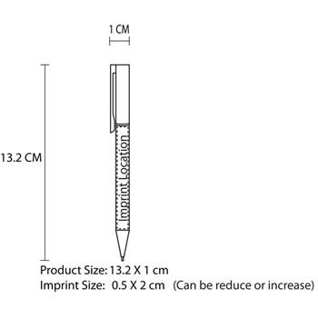 Biro Twist Action Plastic Pen