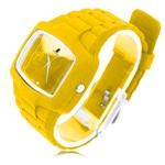 Rectangular Dial Silicon Wrist Watch