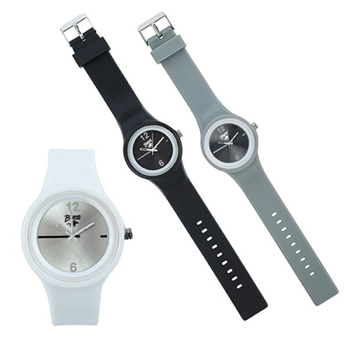 Ritzy Dial Silicone Watch Image 1