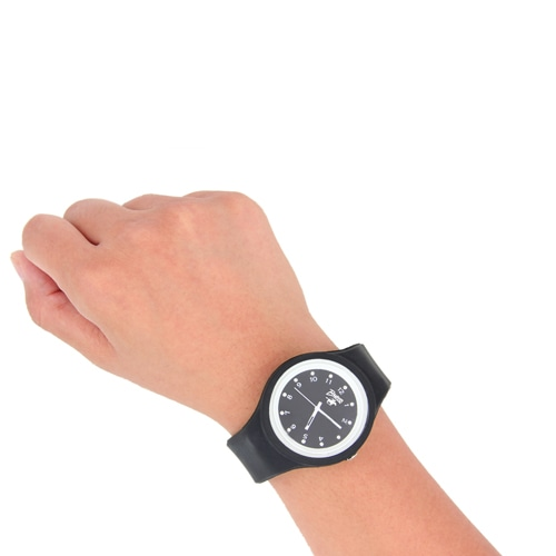 Ritzy Dial Silicone Watch Image 3