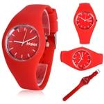RoRoz Round Silicon Wrist Watch