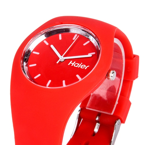 RoRoz Round Silicon Wrist Watch Image 1