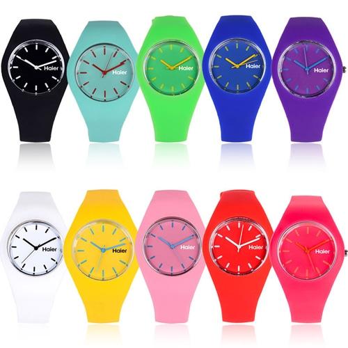 RoRoz Round Silicon Wrist Watch Image 5